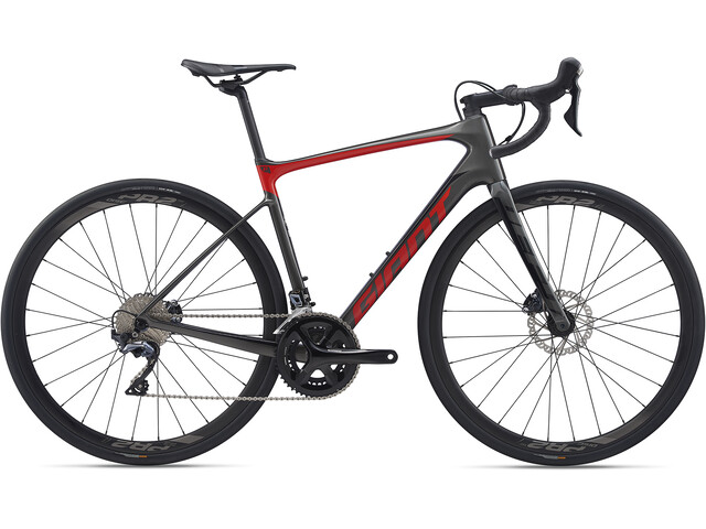 Giant Defy Advanced 1, charcoal grey/pure red